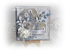 Made by IWA: Świąteczna kartka