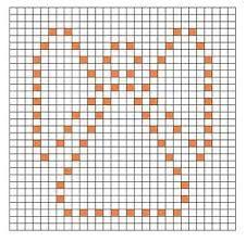 Výsledok vyhľadávania obrázkov pre dopyt free crochet bobble stitch letter patterns