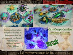 """Everyday is Halloween for Us et We All are Witches: """"le monstre sous le lit"""" - second thème d'Everyday 2016"""