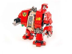 Space Marines Dreadnought: A LEGO® creation by Jerac . : MOCpages.com