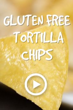 Gluten Free Tortilla Chips by My Suburban Kitchen. Pin made by Overhead Pro. Gluten free tortillas, easy gluten free chips, gluten free tortilla chips, gluten free snacks for kids, original tortilla chips, tortilla chips ingredients, best gluten free tortillas, gluten free mexican food recipe, homemade gluten free tortillas, how to make gluten free tortillas, gluten free snacks for work, gluten free snacks on the go, gluten free mexican appetizers, homemade gluten free chips.