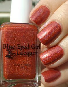 Blue Eyed Girl Lacquer Blood On The Moon