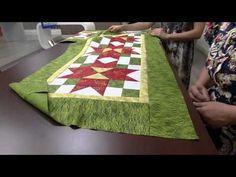 Mulher.com 14/10/2014 - Centro de Mesa Natal Patchowork por Maria Elisa Fumache - Parte 1 - YouTube