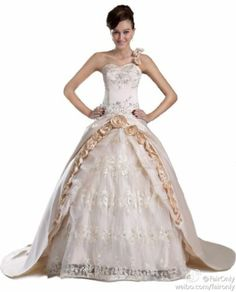 2014 New Arrivals Champagne Wedding Dress Bridal Gown Stock Size:6,8,10,12,14,16