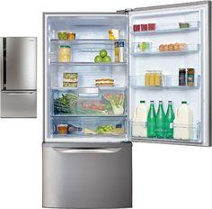 electrolux bottom mount fridge 510l stainless steel ebm5100sc brown australia fridges u0026 freezers pinterest freezer