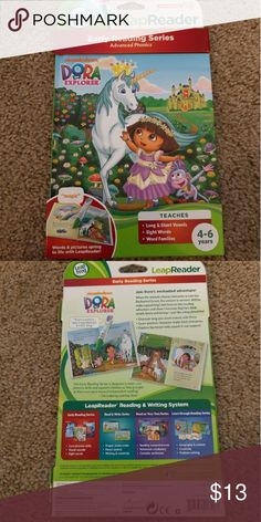 Dora the Explorer LeapReader Brand new   LeapFrog LeapReader Early Reading Book: Nickelodeon Dora the Explorer: Tale of the Unicorn King (works with Tag) Leap Frog Other