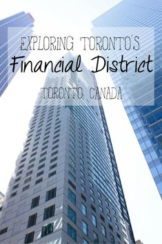 Toronto, Ontario, Canada is a diverse and vibrant city. This is a photo essay of the places and sights that I captured during my explorations and wanderings around Toronto's Financial District and downtown area.