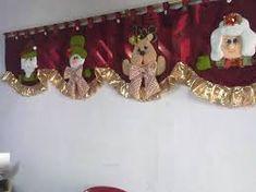 Resultado de imagen para cortinas navideñas con luces Rustic Christmas, Christmas Humor, Christmas Diy, Merry Christmas, Christmas Decorations, Xmas, Holiday Decor, Christmas Valances, Crafts To Sell