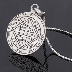 King Solomon Seals Jewelry | Amuleto Sellos Pentáculo de Salomón | Kabbalah Talismans, Pentacles & Amulets - Solomon Seals