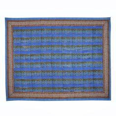 This unique and exotic Provincial Stripes tapestry will bring elegant bohemian style to any space. Use it as a wall hanging, tablecloth, bedspread, picnic blanket, and more!