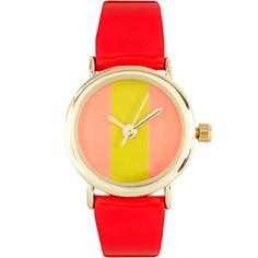 ASOS Color Block Watch