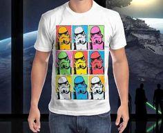 camiseta star wars - trooper modernista