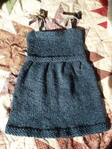 Free Knitting Pattern - Toddler & Children's Clothes: Evie's Dress