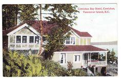 BC – COWICHAN BAY, Cowichan Bay Hotel c.1926 PPC