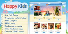 ThemeForest Happy Kids v3.3.3 – Children WordPress Theme