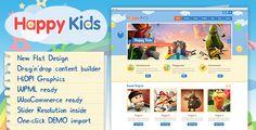 ThemeForest Happy Kids v3.3.3 – Children WordPress Theme