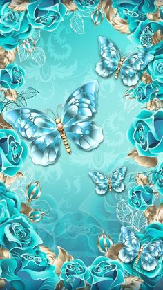 Wall Paper Iphone Blue Butterfly 35 Ideas For 2019 Butterfly Wallpaper Iphone, Galaxy Wallpaper, Colorful Wallpaper, Cellphone Wallpaper, Flower Wallpaper, Nature Wallpaper, Wallpaper Backgrounds, Iphone Wallpaper, Wallpaper Maker