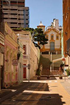 Igreja Nossa Senhora do Rosário (escadaria) centro Floripa. Brasil