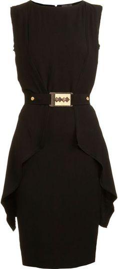 Always need a classic black dress especially if its Fendi <3 it!