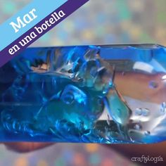 Sea in a Bottle Babysitting Activities, Sensory Activities, Infant Activities, Preschool Activities, Fun Crafts For Kids, Diy For Kids, Crafts To Make, Baby Sensory Play, Sensory Bottles