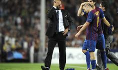Iniesta says Guardiola will adapt to Premier League = Barcelona midfielder Andres Iniesta is confident that his former manager Pep Guardiola will be able to adapt to life in the Premier League.  Iniesta, 32, won three La Liga titles and two Champions League trophies under.....
