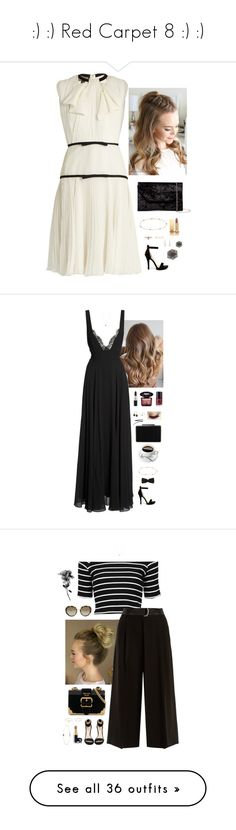 """"""":) :) Red Carpet 8 :) :)"""" by somethinglikelove ❤ liked on Polyvore featuring RedCarpet, dressy, chic, Giambattista Valli, Wild Diva, Halogen, Minor Obsessions, Yves Saint Laurent, LUMO and Belpearl"""