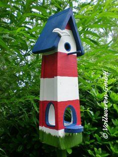 Bird Houses Painted, House Painting, Outdoor Decor, Crafts, Diy, Home Decor, Gardens, Birdhouse Ideas, Decorating Ideas