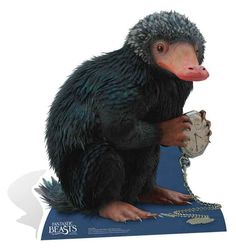 Niffler from Fantastic Beasts and Where to Find Them Lifesize Cardboard Cutout / Standee / Stand Up