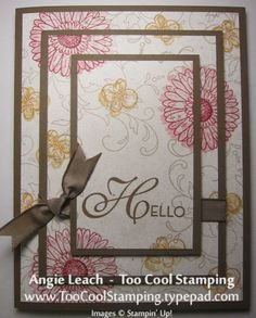 Triple Time Reason To Smile by Angie Leach - Cards and Paper Crafts at Splitcoaststampers