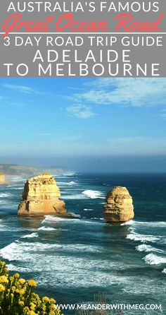Great Ocean Road three day itinerary from Adelaide to Melbourne, Australia. Planning a road trip from Adelaide in South Australia to Melbourne in Victoria? Here is all you need to know on what to see on the Great Ocean Road, including the famous 12 Apostles, London Bridge and Loch Ard Gorge. Including where to stay on the Great Ocean Road and how to get there.