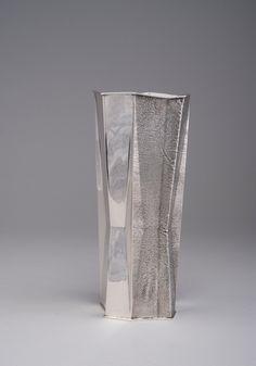 TAPIO WIRKKALA, A SILVER VASE. 830 silver. Signed TW ...  www.bukowskis.com-