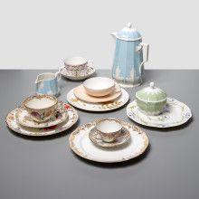 Porcelain Tea Set by Nymphenburg