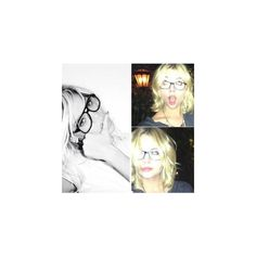 Who Rocked Their Nerd Glasses? Ashley Benson vs. Rihanna (PHOTOS)... ❤ liked on Polyvore