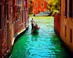 Take a Gondola ride through the Canals of Venice, Italy (Photo by Yuliya bahr) Places To Travel, Places To See, Travel Destinations, Romantic Destinations, Most Romantic Places, Beautiful Places, Exotic Places, Peaceful Places, Beautiful Scenery