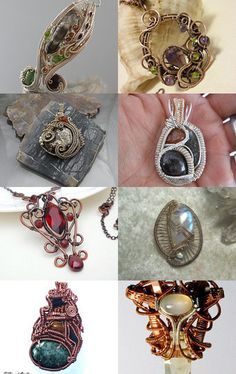 Some of my favorite works of wearable art.