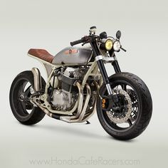 This Honda cafe racer has an interesting story and was inspired by something that usually does not get associated with motorcycles. John Ryland of
