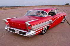 Visit The MACHINE Shop Café... ❤ Best of Custom @ MACHINE ❤ (1958 Buick Special Red Coupé)