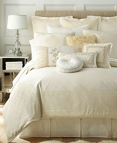 Waterford Innisfree King Bedskirt...I WANT THIS BEDDING! Who wants to loan me $800!