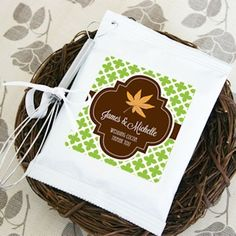 Fall for Love Personalized Hot Cocoa Favors (Event Blossom EB2050Z) | Buy at…