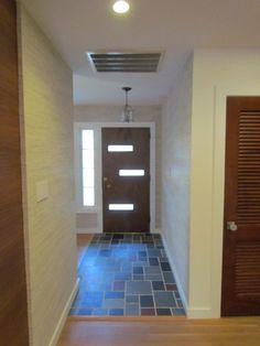 I love this entryway floor!