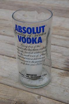 Ketel One Vodka LIQUOR BOTTLE Glowing GEL WAX CANDLE Fun Home Bar//Patio//Gift!