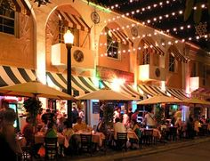 Espanola Way South Beach Miami.  I have a soft spot for this place, after all this is where Jason & I had our 1st date.