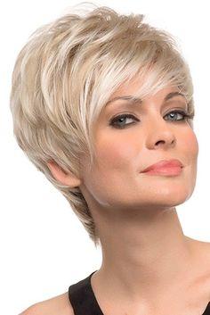 Large Shari by Envy Wigs - Haarschnitt Kurz Prom Hairstyles For Short Hair, Pixie Hairstyles, Short Hair Cuts, Cool Hairstyles, Hairstyles Videos, Pixie Cuts, Teenage Hairstyles, Men's Haircuts, Hairstyles 2018