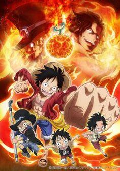 Filme 17-One Piece: Episódio do Sabo 3 Kyoudai no Kizuna Kiseki no Saikai to Uketsugareru Ishi Ano: 2015 Gêneros: Ação, Shounen D - 01/2015