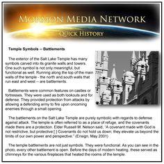 MormonMediaNetwork.com - Temple Symbols - Battlements