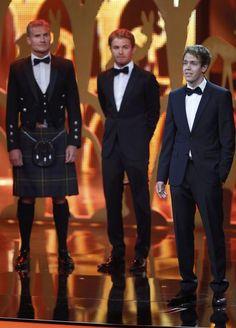 "Vettel:""Nice dress David!"""