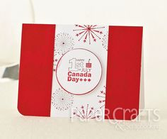 Dawn Cosgrove - Paper Crafts 365 Cards: make cards, Canada Day, stamping
