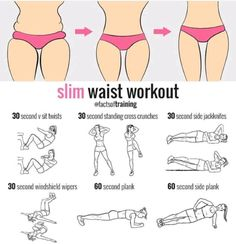 Lose Weight - Slim waist workout - In Just One Day This Simple Strategy Frees You From Complicated Diet Rules - And Eliminates Rebound Weight Gain Fitness Workouts, Training Fitness, Cardio Workouts, Waist Training Workout, Strength Training, Inner Leg Workouts, Side Workouts, Cardio Diet, Kettlebell Cardio