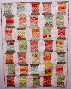 spools quilts | via quilt for fun