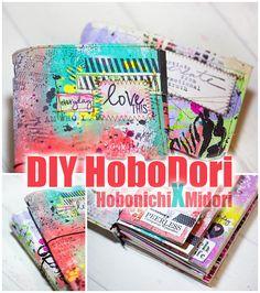 Cre8tive Cre8tions by Andrea Gomoll | My DIY HoboDori Setup / FlipThrough (DIY Hobonichi / Midori Style Artjournal ) | http://andrea-gomoll.de